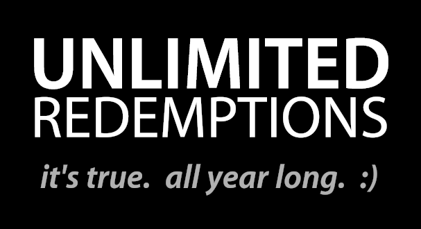 unlimited-redemptions